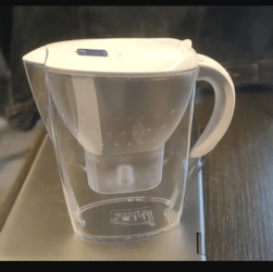 eau du robinet purifiée